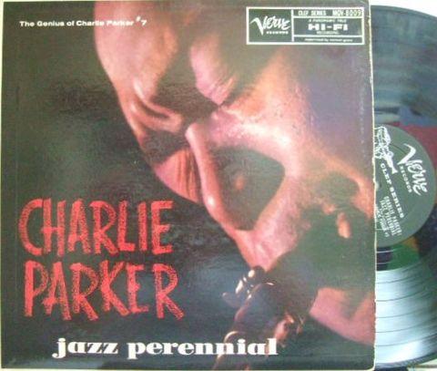 【米Verve mono】Charlie Parker/Jazz Perennial (Kenny Dorham, Al Haig, Hal McKusick, Hank Jones, etc)