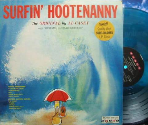 【米Stacy mono】Al Casey/Surfin' Hootenanny