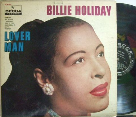 【米Decca mono】Billie Holiday/Lover Man