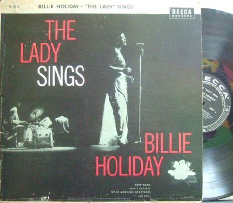 【米Decca mono】Billie Holiday/The Lady Sings