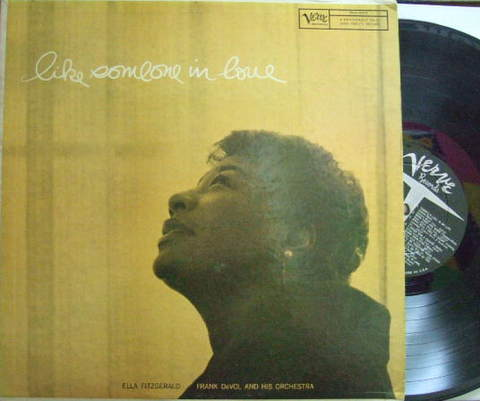 【米Verve mono】Ella Fitzgerald/Like Someone In Love (Stan Getz)