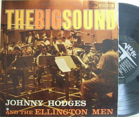 【米Verve mono】Johnny Hodges and The Ellington Men/The Big Sound