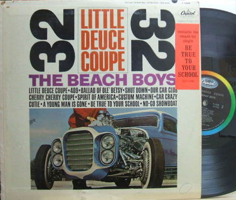 【米Capitol mono】Beach Boys/Little Deuce Coupe