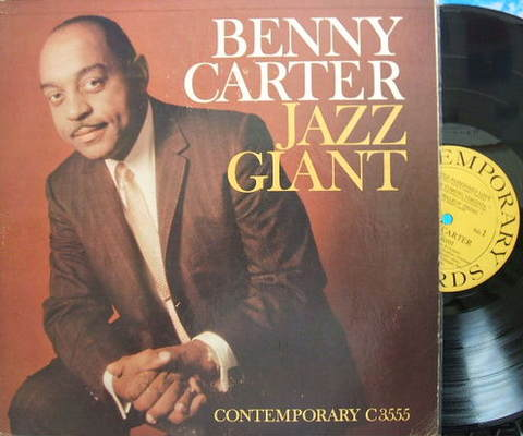 【米Contemporary mono】Benny Carter/Jazz Giant (Ben Webster, Barney Kessel)