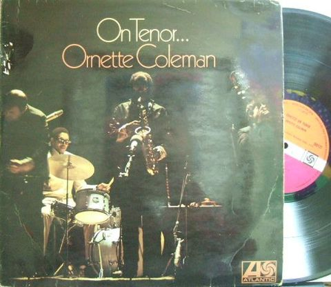 【英Atlantic】Ornette Coleman/On Tenor (Don Cherry, Jimmmy Garrison, etc)
