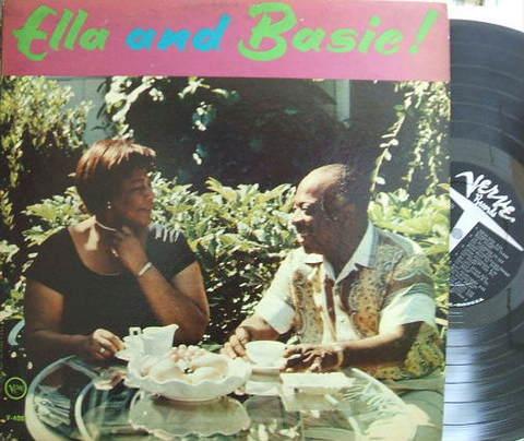 【米Verve mono】Ella Fitzgerald, Count Basie/Ella and Basie!