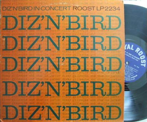 【米Roost mono】Dizzy Gillespie & Charlie Parker/Diz 'n' Bird in Concert