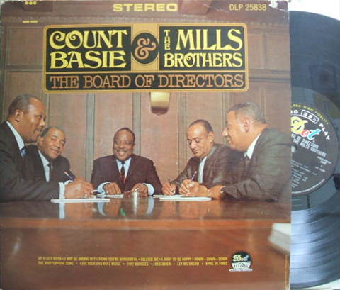 【米Dot mono】Count Basie & Mills Brothers/The Board of Directors