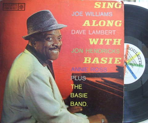【米Roulette mono】Count Basie/Sing Along With Basie