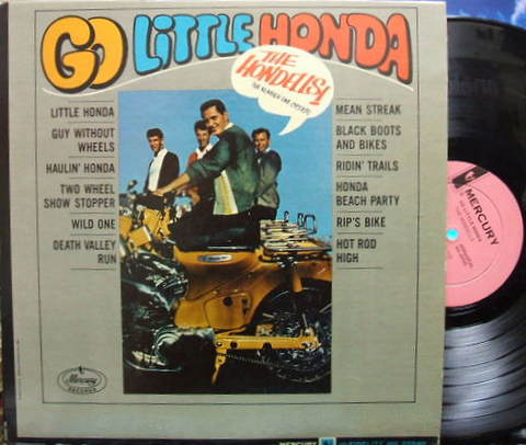 【米Mercury mono】The Hondells/Go Little Honda レアなプロモ盤