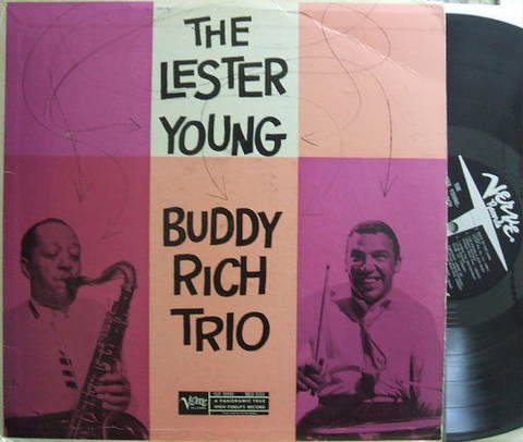 【米Verve mono】Lester Young/Buddy Rich Trio