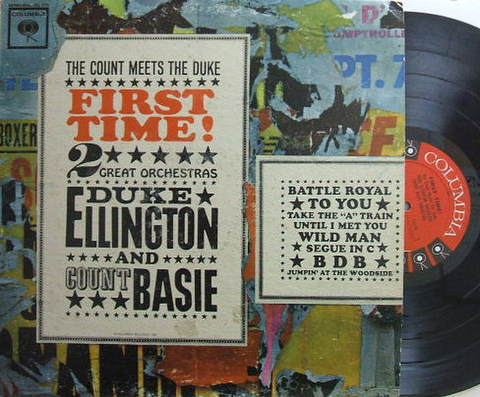 【米Columbia mono】Duke Ellington-Count Basie/The Count Meets Teh Duke - First Time!