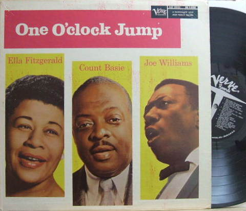 【米Verve mono】Ella Fitzgerald/Count Basie/Joe Williams/One O'clock Jump
