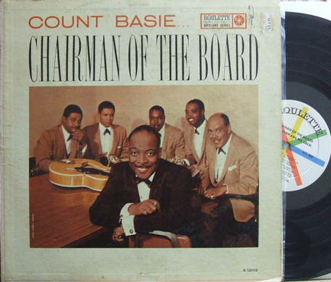 【米Roulette mono】Count Basie/Chairman of The Board