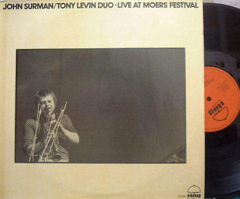 【独Ring】John Surman/Tony Levin Duo Live at Moers