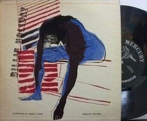 【米Mercury mono】Billie Holiday/Sings (Charly Shavers, Flip Phillips, Oscar Peterson, etc)
