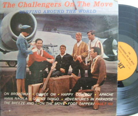 "【米Vault mono】The Challengers/On the Move ""Surfing Around The World"""