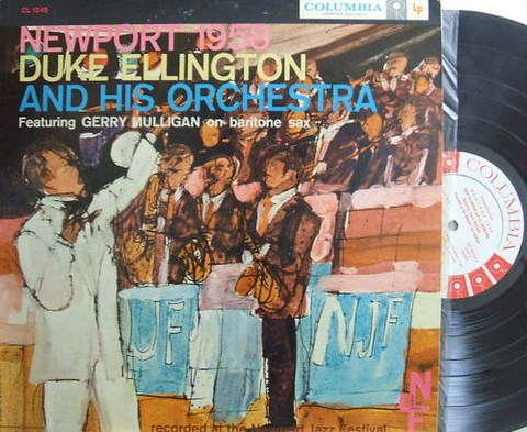 【米Columbia mono】Duke Ellington/Newport 1958 (promo)