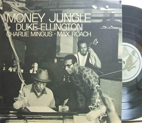 【米United Artists mono】Duke Ellington/Money Jungle (Mingus, Roach)