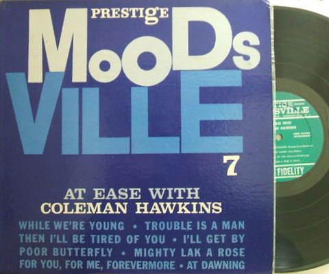 【米Moodsville/Prestige mono】Coleman Hawkins/At Ease (Tommy Flanagan)