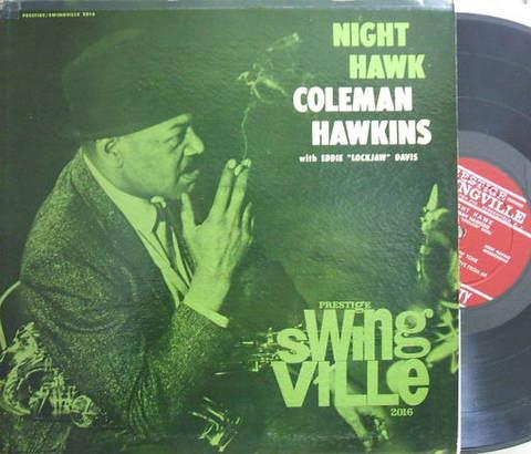 【米Swingville/Prestige mono盤】Coleman Hawkins/Night Hawk