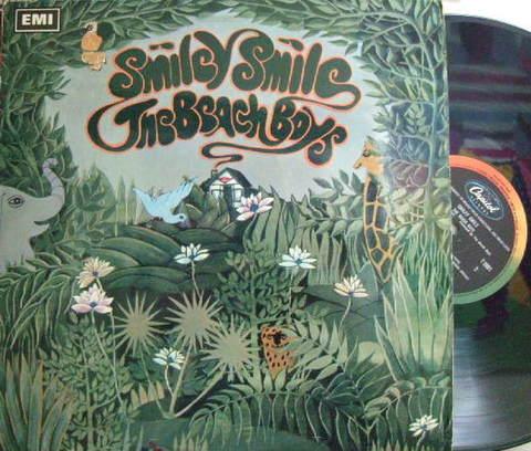 【英EMI/Capitol mono】The Beach Boys/Smiley Smile