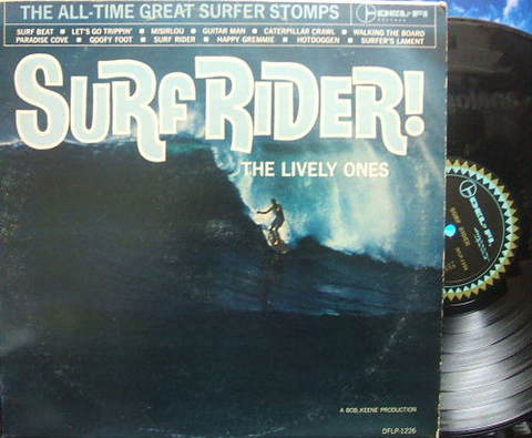 【米Del-Fi mono】The Lively Ones/Surf Rider