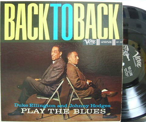 【米Verve mono】Duke Ellington and Johnny Hodges/Back To Back