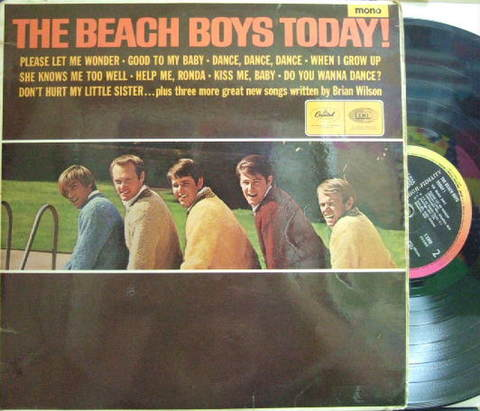【米Capitol mono】Beach Boys/Today!
