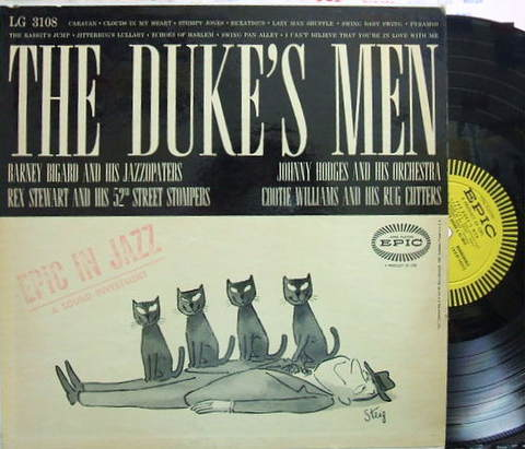 【米Epic mono】Johnny Hodges, Barney Bigard, etc/The Duke's Men