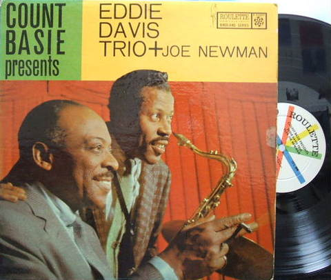 【米Roulette mono】Eddie Lockjaw Davis/Count Basie Presents Eddie Davis Trio (Shirley Scott)