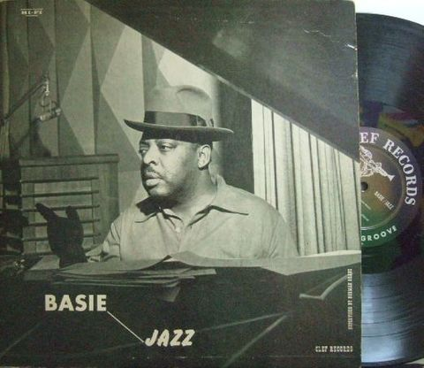 【米Clef mono】Count Basie/Basie Jazz (Eddie Lockjaw Davis, Oscar Peterson, Freddie Green, etc)