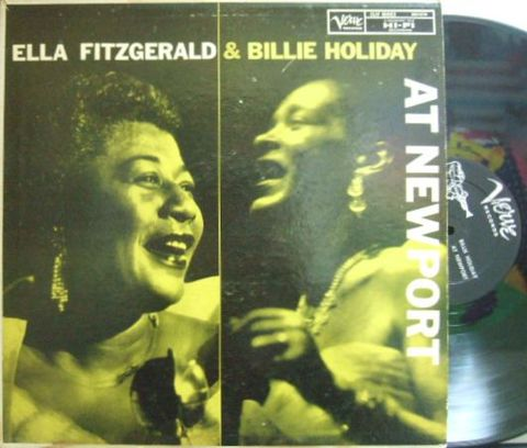 【米Verve mono】Ella Fitzgerald and Billie Holiday/At Newport (Don Abney, Mal Waldron, Jo Jones, etc)
