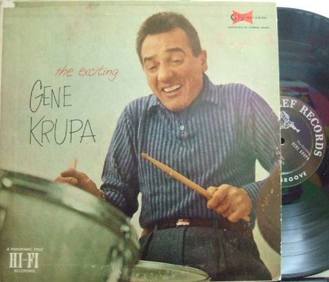 【米Clef mono】Gene Krupa/The Exciting Gene Krupa (Charlie Shavers, Ben Webster, Teddy Wilson, etc)
