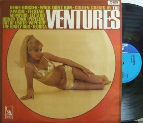 【英Liberty mono】The Ventures/Golden Greats