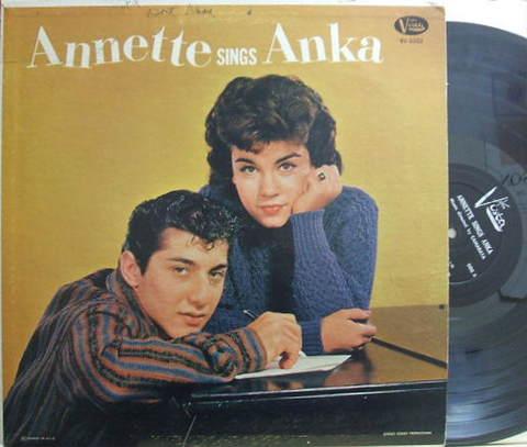 【米Buena Vista mono】Annette/Sings Anka