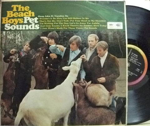 【英Capitol mono】The Beach Boys/Pet Sounds
