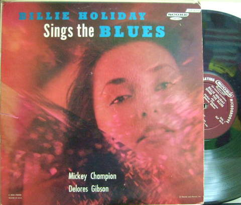 【米Score mono】Billie Holiday/Sings The Blues