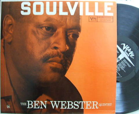 【米Verve mono】Ben Webster/Soulville (Oscar Peterson, etc)