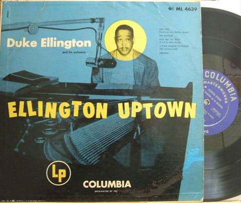 【米Columbia mono】Duke Ellington/Ellington Uptown (Paul Gonsalves, Clark Terry, etc)
