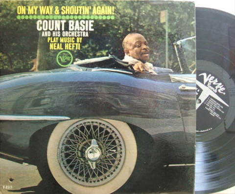 【米Verve mono】Count Basie/On My Way & Shoutin' Again! (Thad Jones, etc)