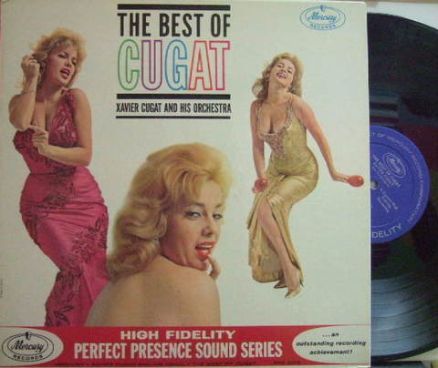 【米Mercury mono】Xavier Cugat/Best of Cugat (Abbe Lane)