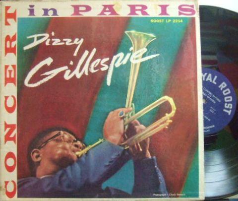 【米Roost mono】Dizzy Gillespie/Concert in Paris