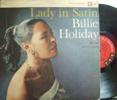【米Columbia mono】Billie Holiday/Lady In Satin
