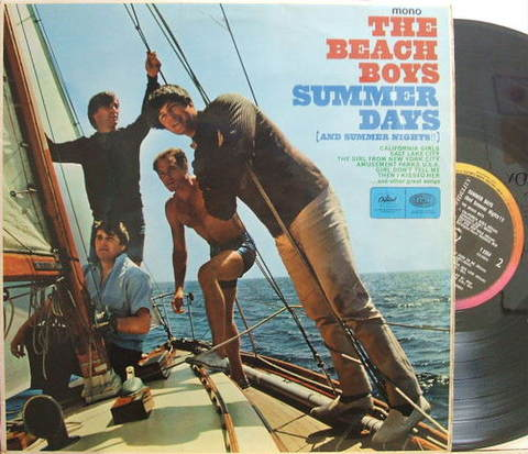 【英Capitol mono】Beach Boys/Summer Days (and Summer Nights!!)