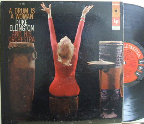 【米Columbia mono】Duke Ellington/A Drum Is A Woman (Johnny Hodges etc)