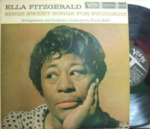 【米Verve mono】Ella Fitzgerald/Sings Sweet Songs For Swingers
