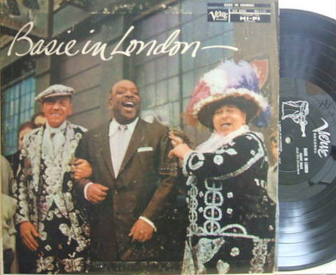 【米Verve mono】Count Basie/Basie in London