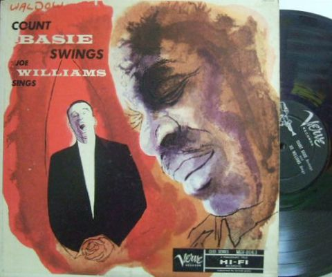 【米Verve mono】Count Basie & Joe Williams/Count Basie Swings Joe Williams Sings