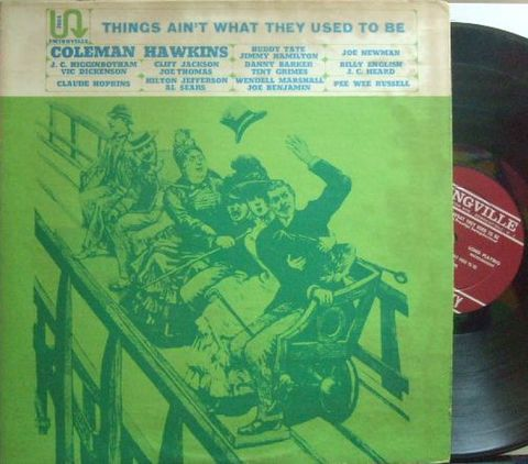 【米Swingville mono】Coleman Hawkins/Things Ain't What They Used To Be